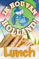 Ik Hou van Holland Lunch in Amsterdam